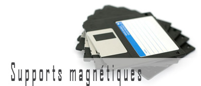 Supports magnétiques