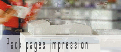 Pack pages impression