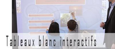 Tableaux blanc interactifs